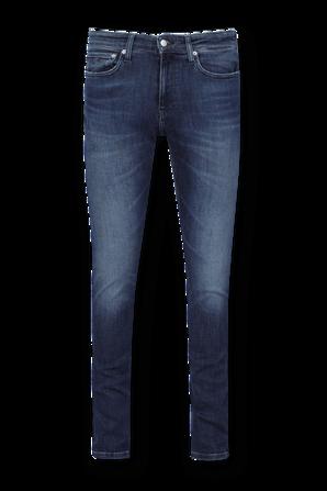 Slim 5 Pockets Denim Pants in Blue CALVIN KLEIN
