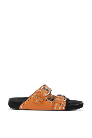 Lennyo Sandals in Orange ISABEL MARANT