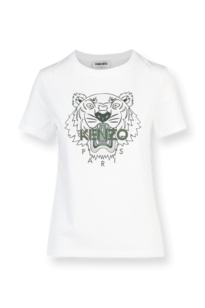 Classic Tiger Tee in White KENZO