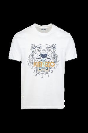 Iconic Tiger TShirt in White KENZO