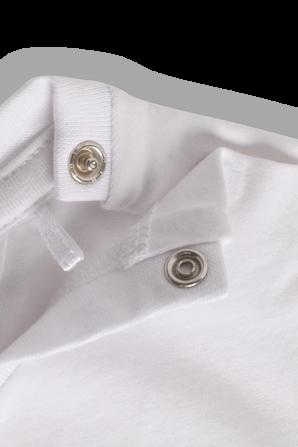 גילאי NB-24 חודשים חולצת לוגו אייקוני בלבן TOMMY HILFIGER KIDS