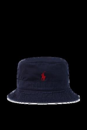 Bucket Hat in Navy POLO RALPH LAUREN