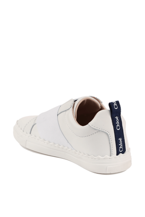 מידות 25-27 נעלי סניקרס לוגו CHLOE KIDS
