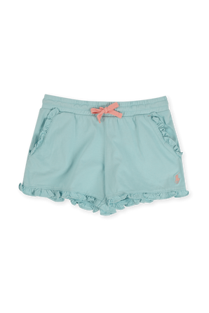גילאי 8-16 מכנסי שורטס עם וולנים POLO RALPH LAUREN KIDS