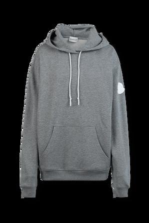 Logo Sweatshirt in Grey MONCLER