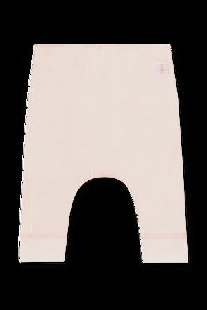 גילאי NB-12 חודשים מכנסי ריב ארוכים בוורוד PETIT BATEAU