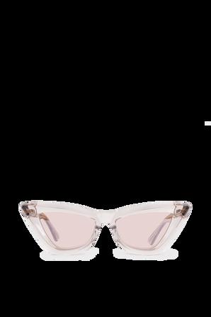 Tinted Lenses Sunglasses in Light Pink BOTTEGA VENETA
