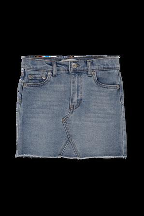 גילאי 4-6 חצאית גינס בגזרה גבוהה LEVI`S KIDS