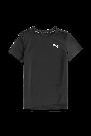 גילאי 2-14 חולצת טי עם לוגו קטן PUMA KIDS