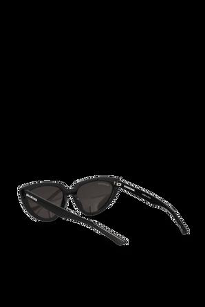 Tip Cat Logo Sunglasses in Black BALENCIAGA