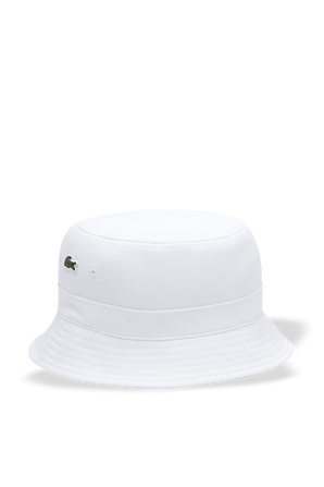 Organic Cotton Bucket Hat LACOSTE