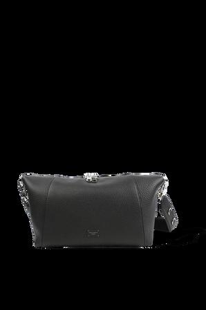 Palermo Shoulder Bag In Black Leather DOLCE & GABBANA