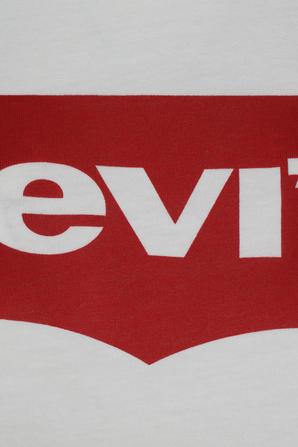 Levis Logo Tee In White LEVI`S