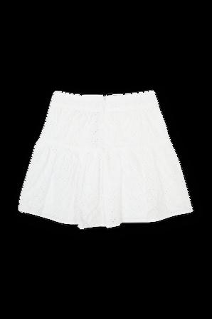 גילאי 4-7 חצאית לבנה עם עיטורים TOMMY KIDS