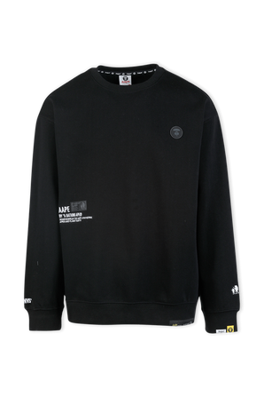 Sweatpants Set in Black AAPE
