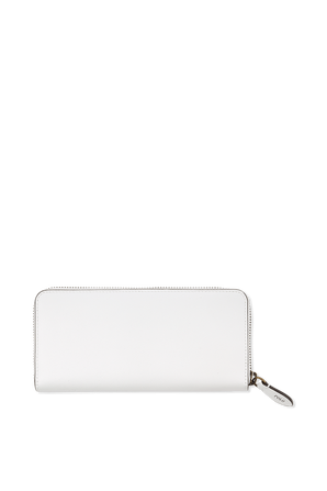 Bear Print Wallet in White POLO RALPH LAUREN