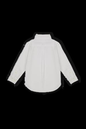 גילאי 2-4 חולצת פולו לבנה מכופתרת קלאסית POLO RALPH LAUREN KIDS