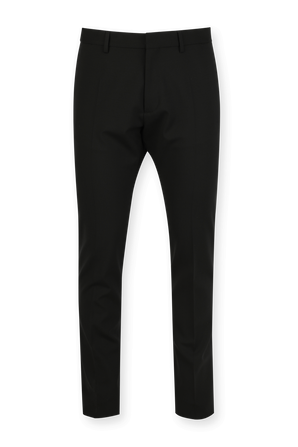 Stretch Wool Trousers in Black DSQUARED2