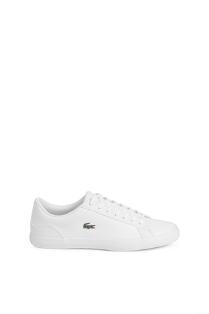Lerond Leather Sneakers in White LACOSTE