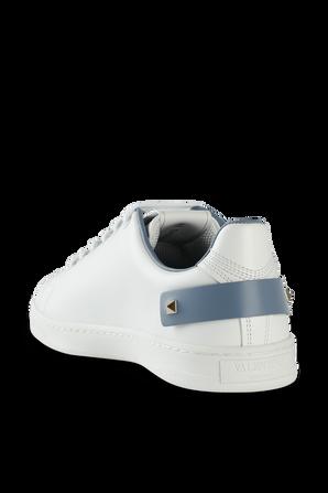 Backnet Sneaker in White Leather VALENTINO GARAVANI
