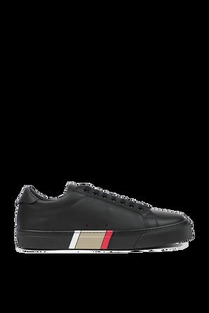 Rangelton Low Top Sneakers in Black BURBERRY
