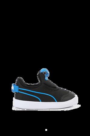 בשחורCourtflex v2 נעלי PUMA KIDS