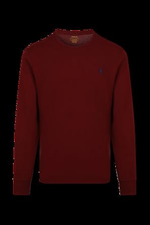 Long Sleeve T-Shirt In Cranberry POLO RALPH LAUREN