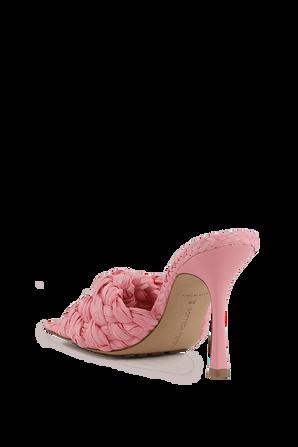 Stretch Sandals in Pink BOTTEGA VENETA