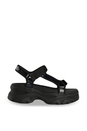 ridescent Hybrd Sandal In Black TOMMY HILFIGER