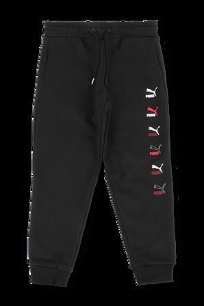 מכנסי ג'וג עם לוגו PUMA KIDS