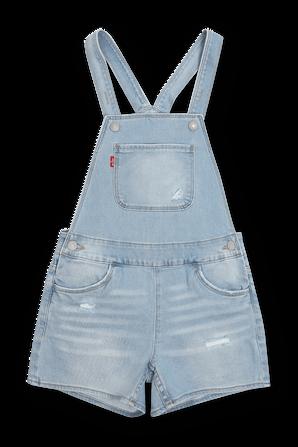 גילאי 7-16 אוברול ג'ינס בשטיפה בהירה LEVI`S KIDS