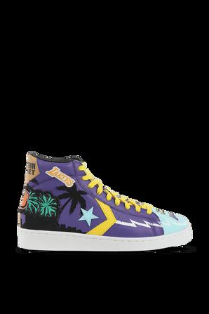 Pro Leather Hi Prism Violet Poolside Sneaker CONVERSE