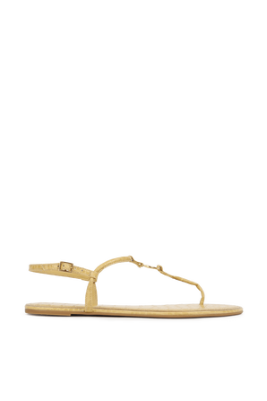 Emmy Sandal in Yellow TORY BURCH