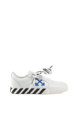 Low Vulcanized Sneakers in White OFF WHITE