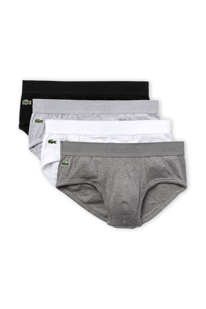4Pack Casual Briefs LACOSTE