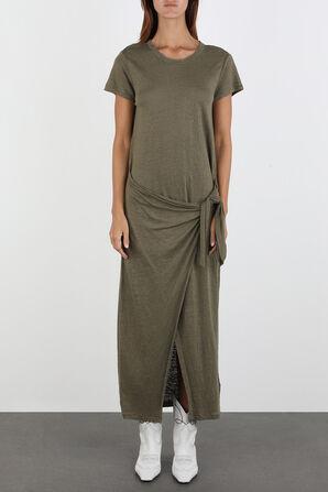 Short Sleeve Casual Dress in Green POLO RALPH LAUREN