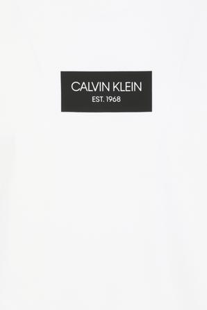 Slim Fit T-Shirt in White CALVIN KLEIN