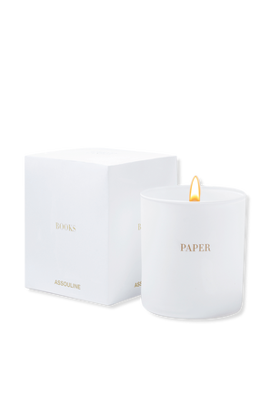 Paper Library Candle ASSOULINE