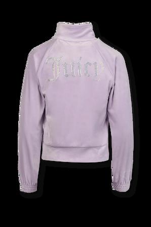 Pastel  Velour Tracktop Jacket JUICY COUTURE