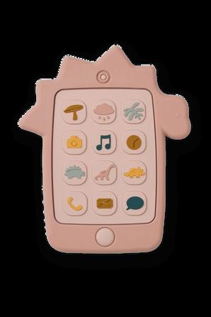 משחק טלפון מסיליקון ורוד LIEWOOD