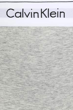 Maternity High Waisted Bikini Brief in Grey Heather- Modern Cotton CALVIN KLEIN