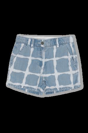גילאי 2-14 מכנסיים קצרים במראה טיי-דיי STELLA McCARTNEY KIDS