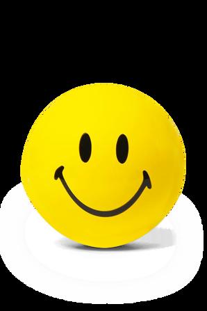 Yellow Smiley Magic 8 Ball CHINATOWN MARKET