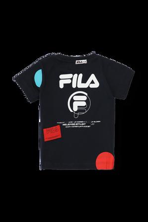 חולצת לוגו טי כחולה - גילאי 6-24 חודשים FILA