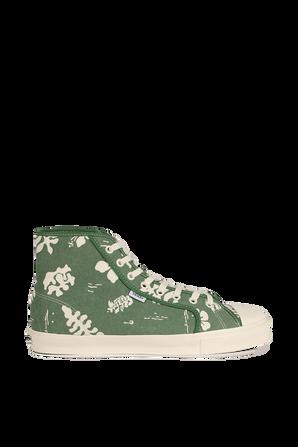 Vans Vault OG Style 24 in Green Floral VANS