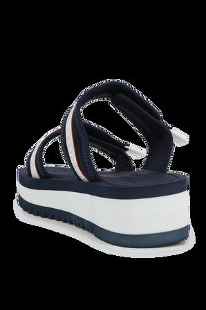 Color Pop Platform Sandals in Navy TOMMY HILFIGER