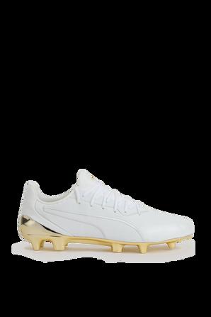 King Platinum Sneakers in White PUMA