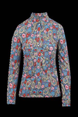 Flower Print Shirt in Multicolor ISABEL MARANT