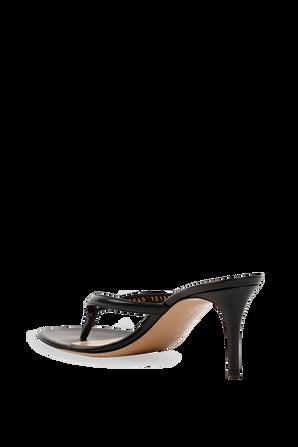 Calypso Heels in Black GIANVITO ROSSI