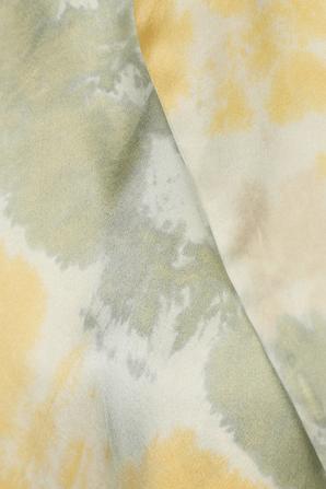 Tide Blouse in Yellow Tie-Dye ELLE SASSON